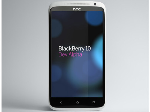 Htc could be developing a smartphone running on a blackberry 10